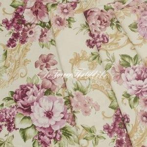 Портьерная ткань CASA DEL VELO цвет лиловый