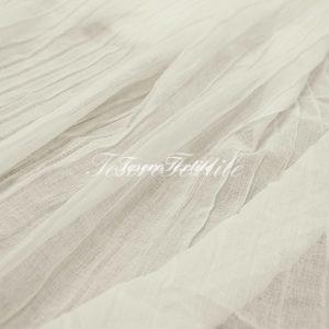 Ткань для штор Полувуаль FIORI цвет белый