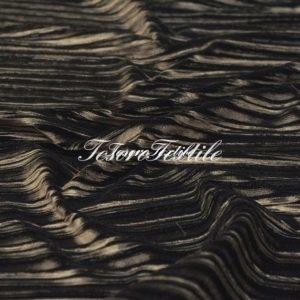 Ткань для штор Гофре SCANDINA цвет коричневый