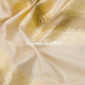 Портьерная ткань ILLUSTRE цвет молочный