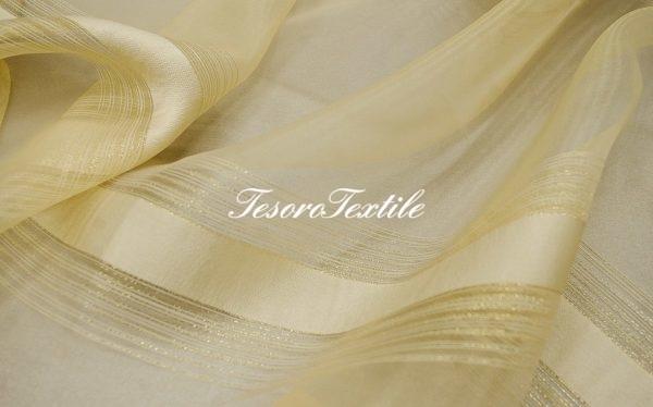 Ткань для штор Вуаль CASA DEL VELO цвет золотисто-бежевый