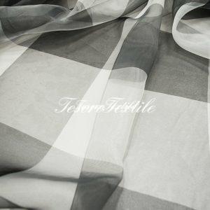 Ткань для штор Органза CASA DEL VELO цвет серый