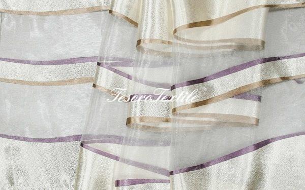 Ткань для штор Вуаль CASA DEL VELO цвет капучино