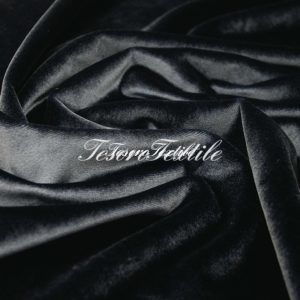 Ткань для штор Бархат SCANDINA цвет темно-серый