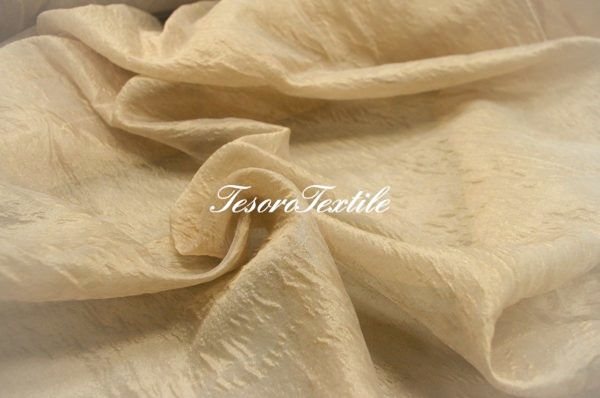 Ткань для штор Вуаль LOUIS цвет капучино