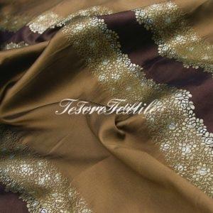 Портьерная ткань ILLUSTRE цвет коричневый
