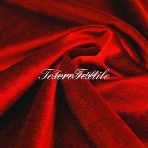 Ткань для штор Бархат CASA DEL VELO цвет красный