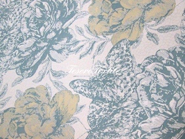 Ткань для штор Жаккард SCANDINA цвет мятно-молочный