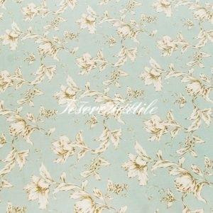 Портьерная ткань GELIN GARDEN цвет голубой