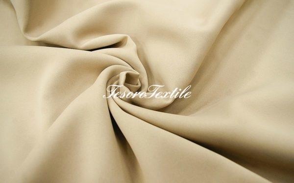 Ткань для штор Блэкаут ASTON цвет кофе с молоком