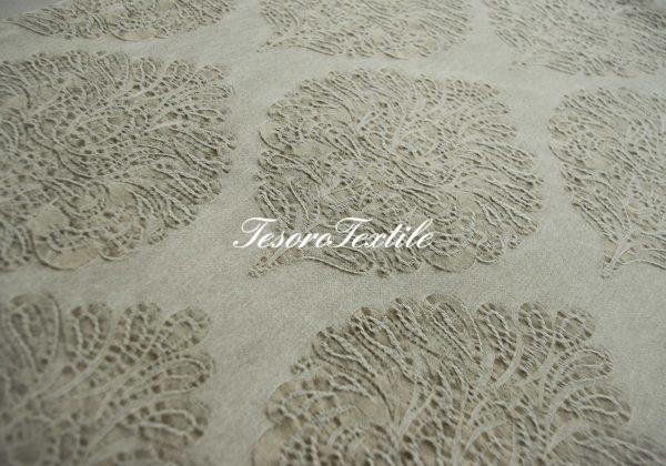Портьерная ткань HOME & DECO цвет серо-коричневый
