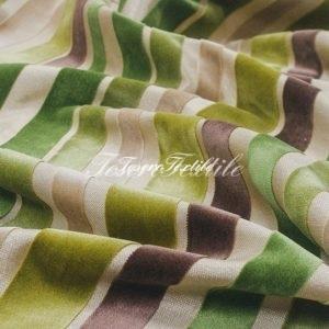 Ткань для штор Пан-бархат ILLUSTRE цвет зеленый