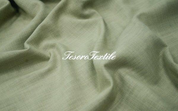 Портьерная ткань GELIN GARDEN цвет хаки