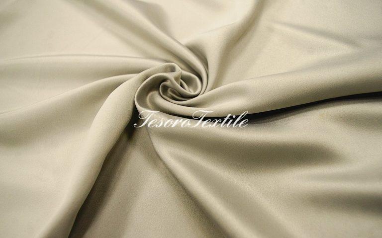 Ткань для штор Атлас VELOURS цвет серо-стальной