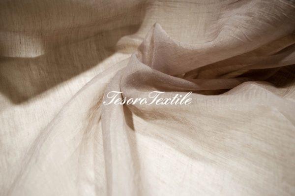 Ткань для штор Вуаль ASTON цвет хаки