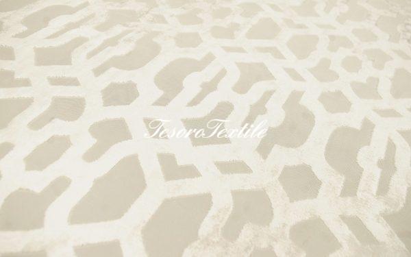 Ткань для штор Пан-бархат SCANDINA цвет белый