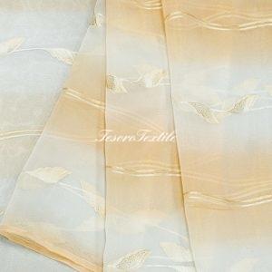 Ткань для штор Органза CASA DEL VELO цвет персиковый