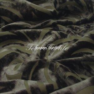 Ткань для штор Пан-бархат ILLUSTRE цвет сизый