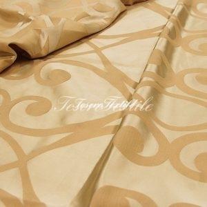 Портьерная ткань ILLUSTRE цвет персиковый
