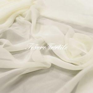Ткань для штор Вуаль LOUIS цвет молочный