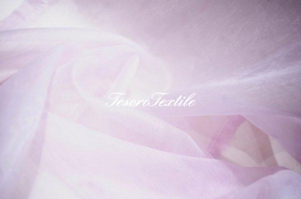 Ткань для штор Вуаль ASTON цвет розовый