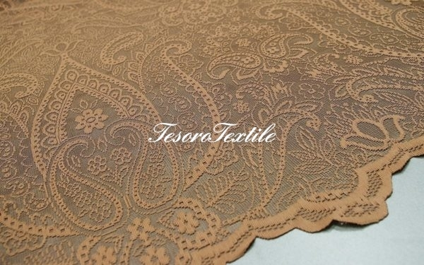 Ткань для штор Вуаль CASA DEL VELO цвет коричневый