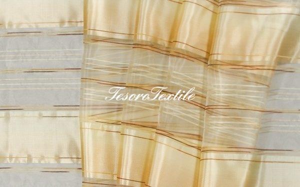 Ткань для штор Вуаль CASA DEL VELO цвет терракотовый