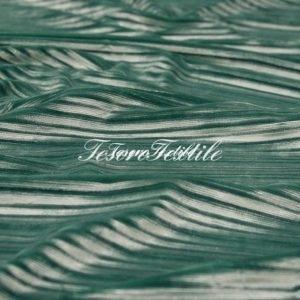 Ткань для штор Гофре SCANDINA цвет зелёный