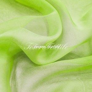 Ткань для штор Микровуаль CASA DEL VELO цвет зеленый