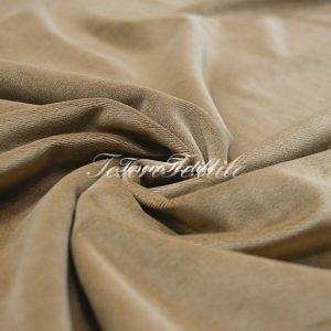 Ткань для штор Бархат VELOURS цвет бежево-песочный