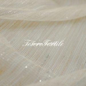 Ткань для штор Сетка CASA DEL VELO цвет бежевый