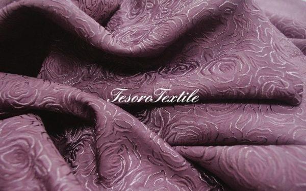 Портьерная ткань CASA DEL VELO цвет фиолетовый