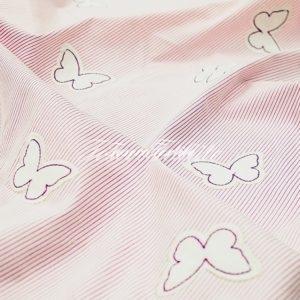 Портьерная ткань GELIN GARDEN цвет розовый