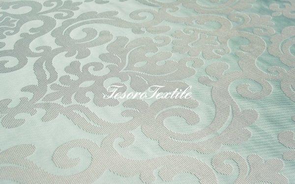 Ткань для штор Жаккард ILLUSTRE цвет голубой