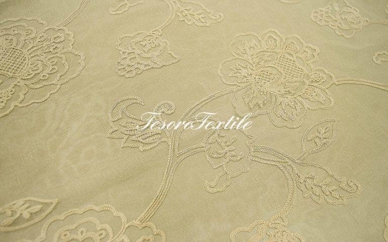 Ткань для штор Вуаль ASTON цвет песочный