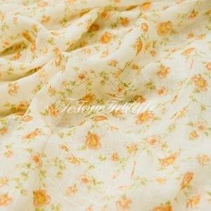 Ткань для штор Вуаль GELIN GARDEN цвет оранжевый