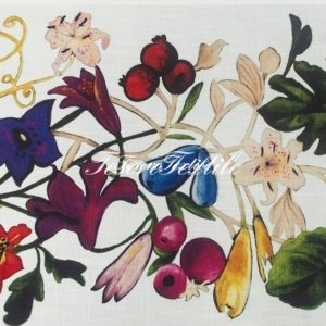 Портьерная ткань SCANDINA цвет мультиколор