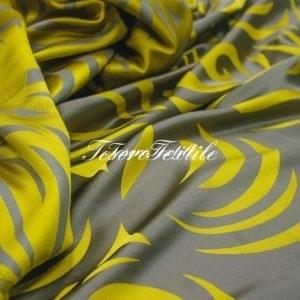 Портьерная ткань ILLUSTRE цвет желтый