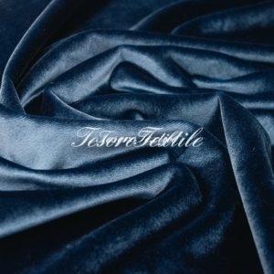 Ткань для штор Бархат SCANDINA цвет синий