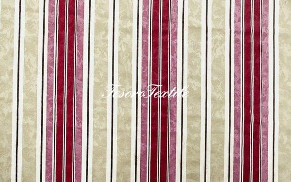 Портьерная ткань CASA DEL VELO цвет розовый