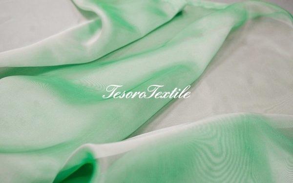 Ткань для штор Микровуаль CASA DEL VELO цвет бирюзовая