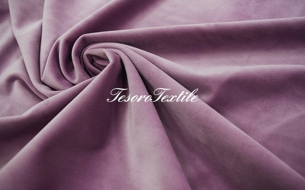 Ткань для штор Бархат VELOURS цвет сиреневый