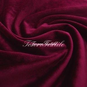Ткань для штор Бархат VELOURS цвет темно-бордовый