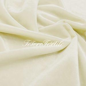 Ткань для штор Бархат SCANDINA цвет молочный