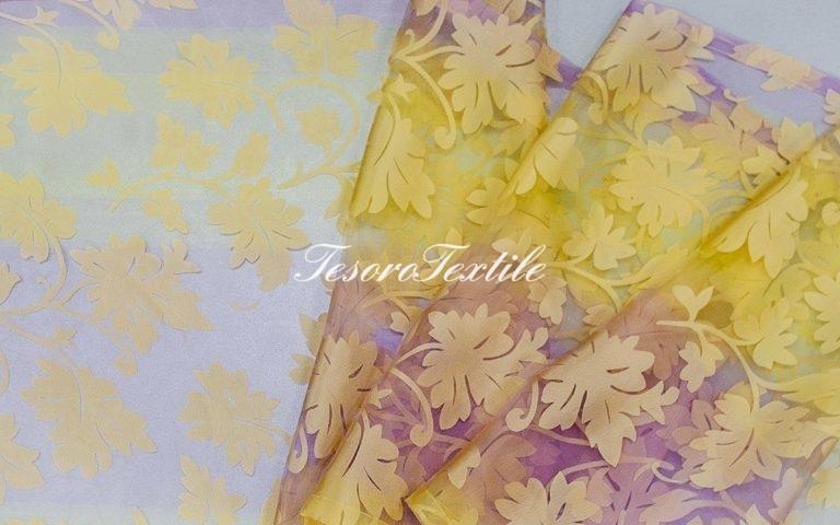 Ткань для штор Вуаль CASA DEL VELO цвет мультиколор сиреневый