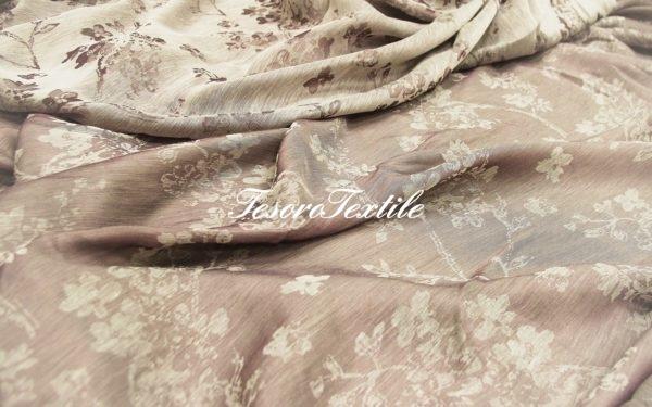 Ткань для штор Вуаль LOUIS цвет фиолетовый