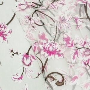 Ткань для штор Органза CASA DEL VELO цвет розовый