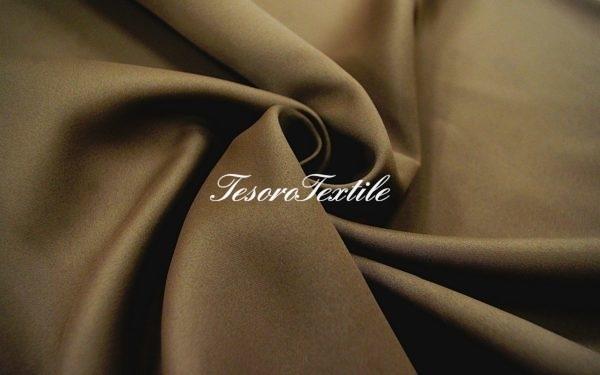 Ткань для штор Блэкаут ASTON цвет шоколад