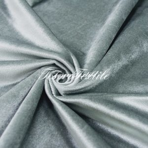 Ткань для штор Бархат CASA DEL VELO цвет стальной