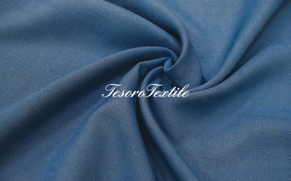 Портьерная ткань CASA DEL VELO цвет синий